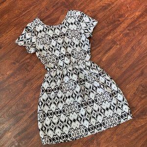 One Clothing Geometric Dress Size S